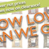 lower prices on nuts banner